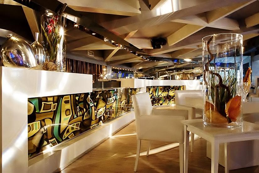LIDO' interior design - decadent chic